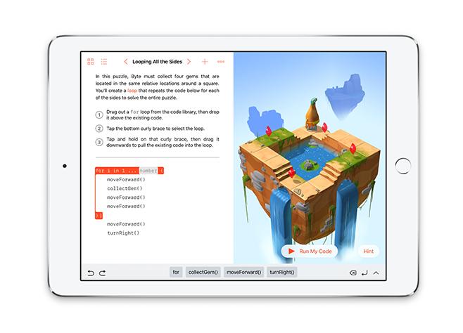 obrázok iOS aplikácie Apple Swift Playgrounds