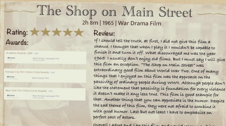 Filmoví kritici zo IV. A?